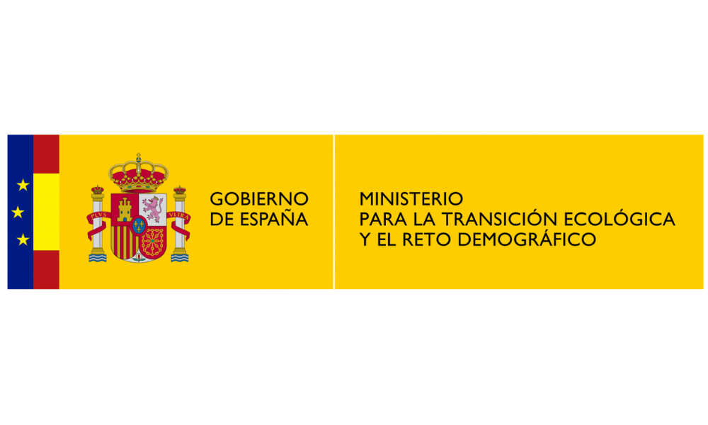 Spanish Ministry for the Ecological Transition logo